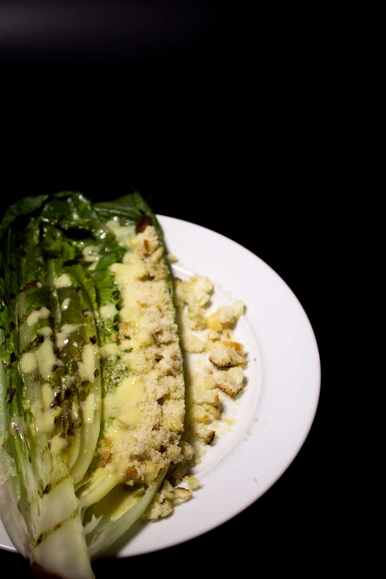 Grilled Ceasar Salad