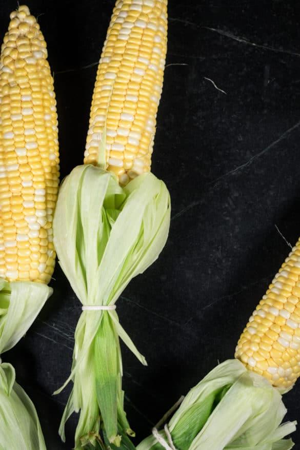 Husked Corn