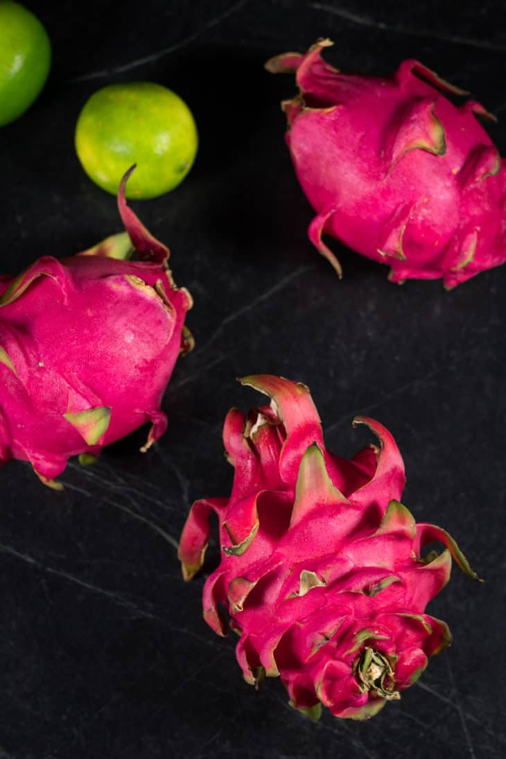 Dragonfruit and Limes