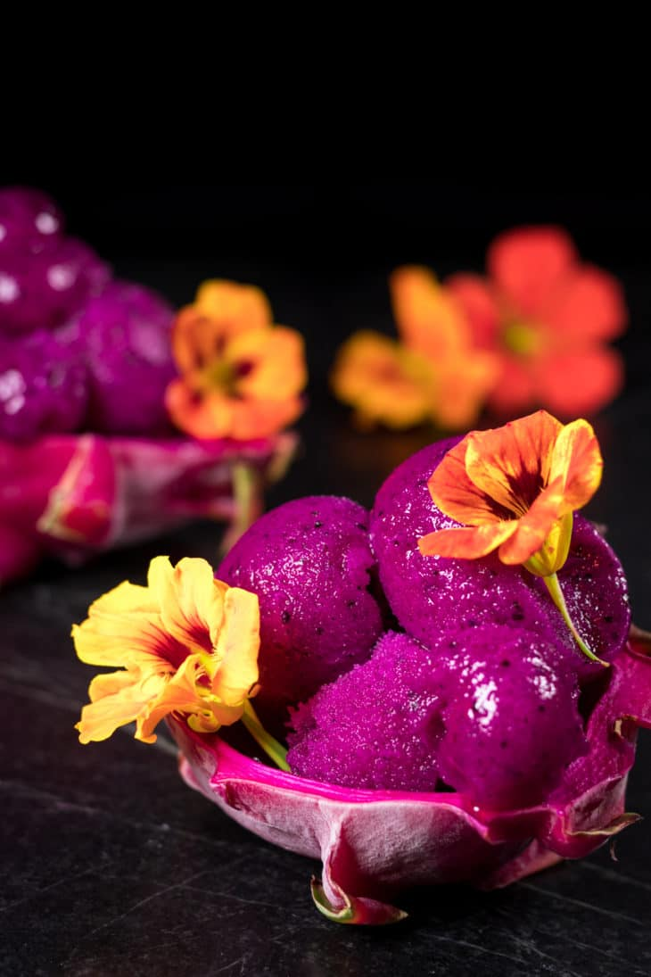 Dragonfruit Sorbet