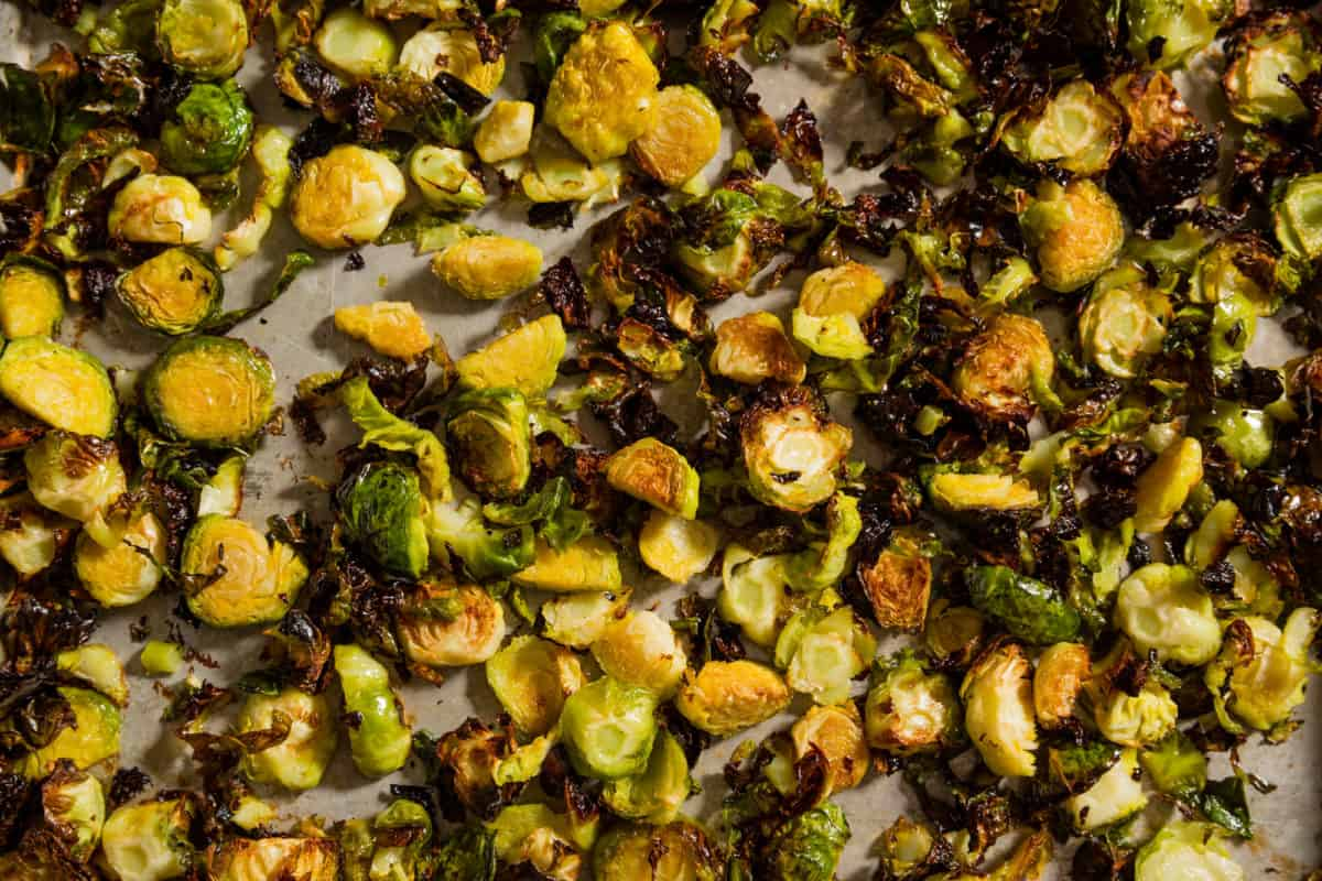 Roasted Brussel Sprouts with Lemon Aioli