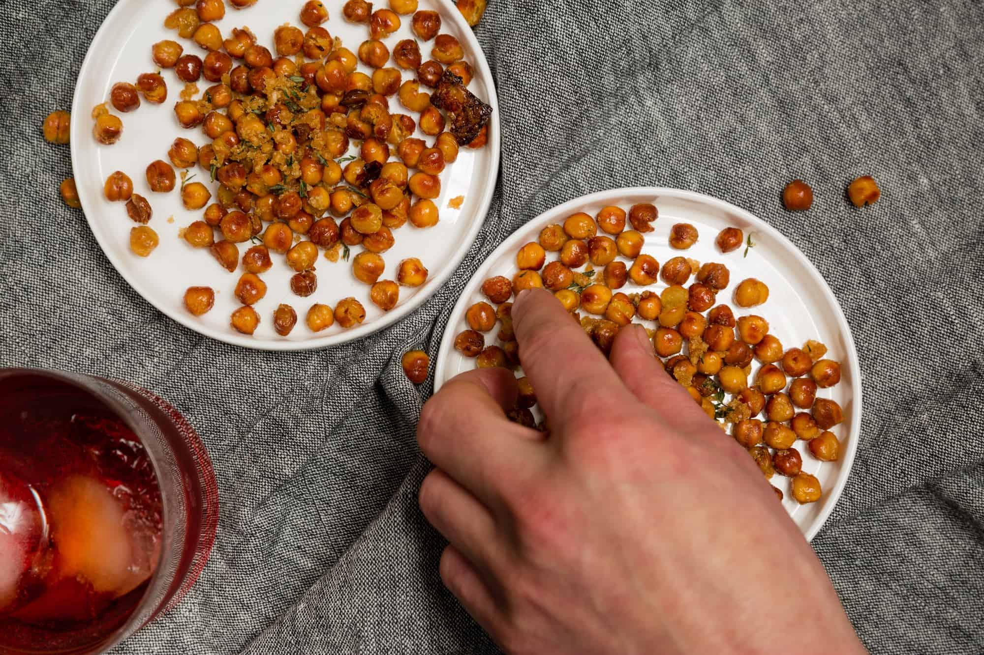 Roasted Chic Peas