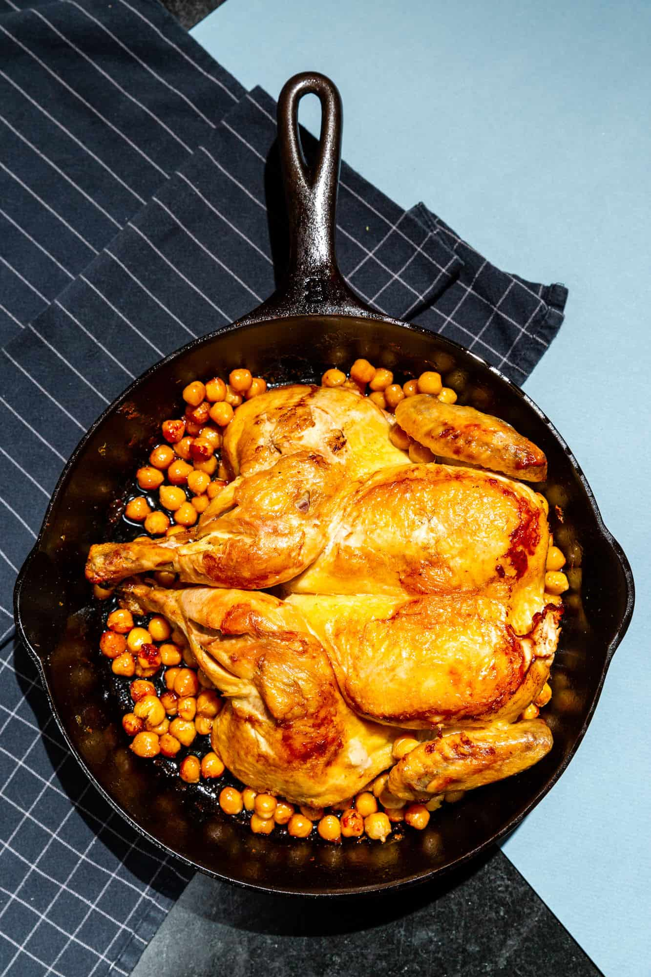 Grill Roasted Chicken