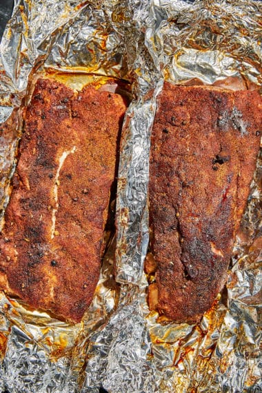 Ribs Out of The Oven